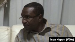 Sita Sangare, président de la fédération burkinabè de football (VOA/Issa Napon).