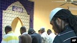 Američki muslimani u jednoj džamiji u glavnom gradu Washingtonu