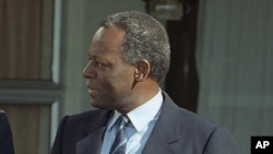 José Eduardo dos Santos, président de l'Angola