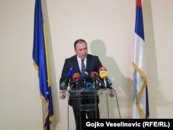 Ministar vanjskih poslova BiH Igor Crnadak, 11. januar 2018.