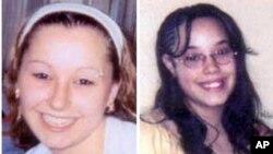 "Cô Amanda Berry, trái, và Georgina ""Gina"" DeJesus. (ảnh của FBI)"