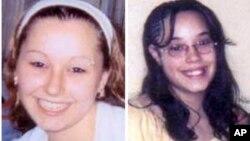 """Amanda Berry (kiri) dan Georgina """"Gina"""" Dejesus diculik saat berusia 16 dan 14 tahun (foto: dok)."""