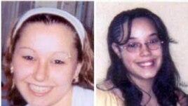 Amanda Berry (kiri) dan Georgina Dejesus diculik selama 10 tahun lebih. Ketika ditemukan, Amanda sudah mempunyai seorang puteri berumur 6 tahun (foto: dok).