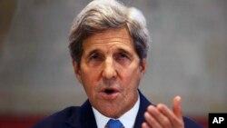 Menlu AS John Kerry masih mengharapkan adanya solusi yang langgeng bagi perdamaian Israel-Palestina (foto: dok).