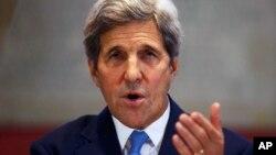 John Kerry sakataren Ma'aikatar Harkokin Wajen Amurka