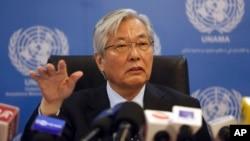 Utusan PBB untuk Afghanistan, Tadamichi Yamamoto