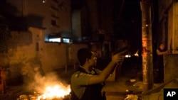 里約熱內盧警方開火還擊