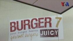 Burger 7 Halal di AS - Liputan Pop News VOA untuk Dahsyat