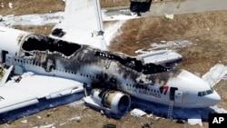 El vuelo 214 de la aerolínea Asiana se accidentó en San Francisco el pasado 6 de julio de 2013.