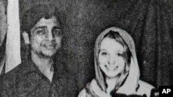 Foto Bunty Sharma dan istrinya, Erin W. Willinger di Agra, India (Foto: dok/polisi India). Sharma menikam istrinya hingga tewas, sebelum membakar diri, Sabtu (22/2).