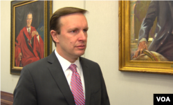 FILE - Senator Chris Murphy.