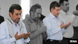 احمدی نژاد بطور بی سابقه ای از رحیم مشایی حمایت می کند