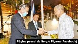 Sérgio Piçarra recebe Prémio Franco-Alemão dos Direitos Humanos e do Estado de Direito, 3 Fevereiro 2021