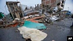 Gempa bumi di Ekuador (Foto: dok.)
