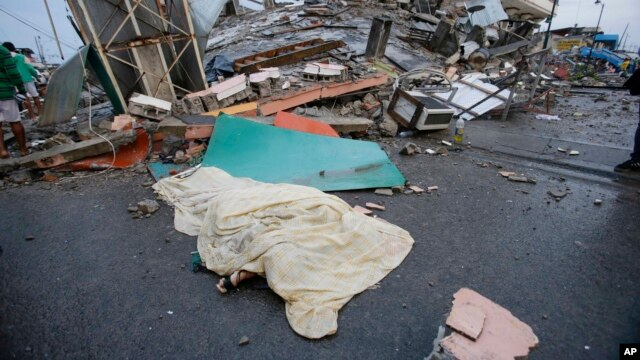 De acuerdo al Servicio Geológico de Estados Unidos, el sismo tuvo epicentroentre las localidades de Pedernales y Muisne.