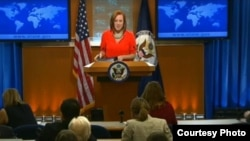 Дженнифер «Джен» Псаки — официальный представитель Государственного департамента США