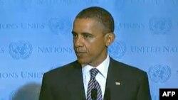 ABŞ prezidenti BMT-nin Baş Assambleyasının illik sessiyasında çıxış edib
