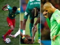 Cameroon, Ivory Coast and Algeria at the World Cup.