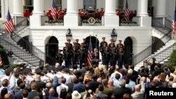 Le président Donald Trump à la Maison Blanche à Washington, le 5 juin 2018.