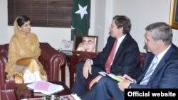 سفیر گراسمین کی پاکستانی وزیرخارجہ سے ملاقات