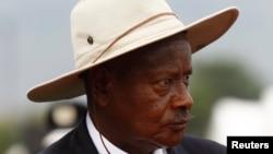 یوگنڈا صدر یووری موسیوینی (فائل فوٹو)