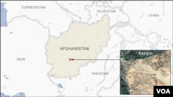 Sangin, Afghanistan.