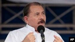 스노든의 망명을 허용하겠다고 밝힌 다니엘 오르테가 니카라과 대통령 (자료사진)