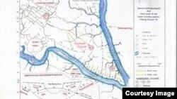 ရန္ကုန္ ေျမေအာက္ေရ အေျချပေျမပုံ ( ရန်ကုန် မြေအောက်ရေ အခြေပြမြေပုံ )