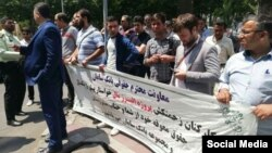 تجمع کارگران پروژه البرز مال کرج