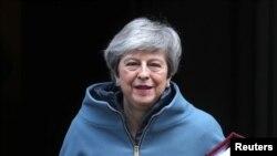 នាយករដ្ឋមន្រ្តីចក្រភពអង់គ្លេសលោកស្រី Theresa May