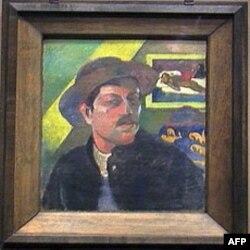 Autoportret Pola Gogena iz perioda 1893-1894.