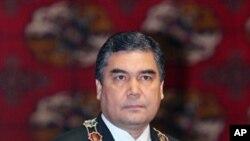 투르크메니스탄의 쿠르방굴리 베르디무크하메도프 대통령