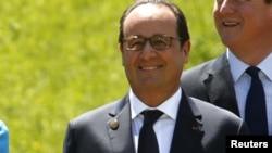Le président Francois Hollande