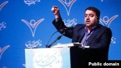 مجید فراهانی، دبیرکل حزب ندای ایرانیان
