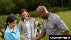 The World Golf Foundation and others in the golf industry are trying to find new ways to get young Americans to play the game. (Courtesy of WGF)