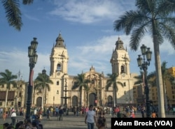 The Basilica Cathedral of Lima, Peru