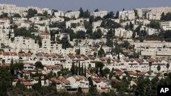 Permukiman Yahudi di Ramot, Yerusalem timur (foto: dok).