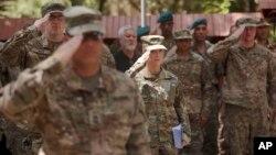 Des soldats américain à Kaboul, Afghanistan,le 15 juillet 2017.