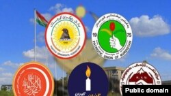 Logos.Kurdish Poilitical Parties