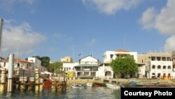 FILE - Lamu Island on Kenya's coast.