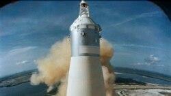 VOA: Lanzamiento del Apolo 11