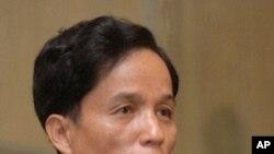 Cambodia's former prime minister, Pen Sovann.