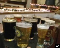 教堂啤酒屋的各式精酿啤酒