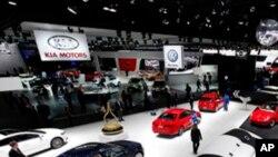 ڈیٹرائٹ کی موٹر گاڑیوں کی سالانہ نمائش