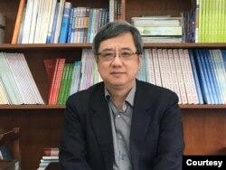 中華經濟研究院大陸所所長劉孟俊。 (陳筠攝)