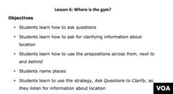 Lesson Plan - Lesson 6