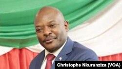 Le président burundais Pierre Nkurunziza à Bujumbura, 23 février 2016. (VOA/Christophe Nkurunziza)