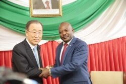 Rencontre entre Ban Ki-moon et Pierre Nkurunziza : le reportage de notre correspondant Pierre Nkurunziza