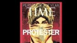 """《时代》将""""抗议者""""评为年度人物"""