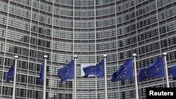 Kantor Pusat Uni Eropa di Brussels (Foto: dok). Pengadilan tertinggi Uni Eropa mencabut sanksi yang diberlakukan atas Iran, Jumat (6/9).